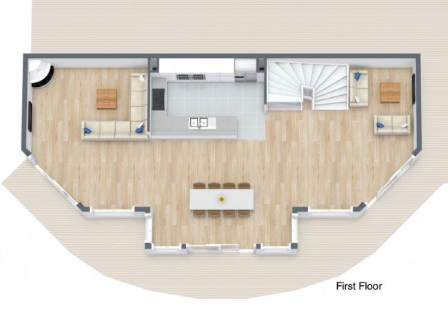 Bull de Neige - Chalet - Morzine - Self Catered - Floor Plan